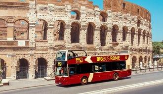 Big Bus罗马随上随下城市观光巴士票(含免费徒步游)