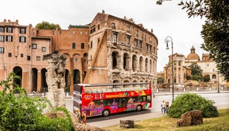 罗马随上随下城市观光巴士24小时/48小时通票